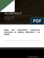 Ayudantía II