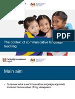 The context of communicative language teaching.pdf
