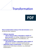 MT30001 02September 2019 Phase Transformation