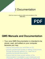 QMS Documentation.ppt