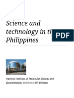 Science and technology in the Philippines - Wikipedia.pdf