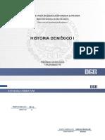 Programa de Estudios-Historia de Mex I