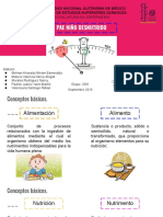 Desnutricion en pediatria