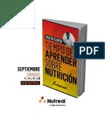 Tiempo de Aprender Sobre Nutricion 2019