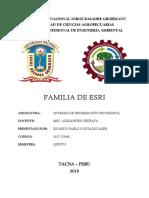 Familia ESRI