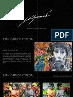 Artista plástico JC Cepeda