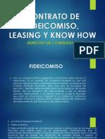 Leasing  Fideicomiso