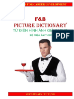 Food  Beverage Picture Dictionary.ppt