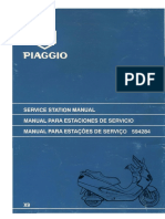 Piaggio x9 -125 to 180 manual