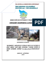 Meta 022 - Informe Situacion Actual y Extraccion de Muestras de Suelos