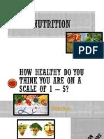 nutrition presentation pe 5 credit