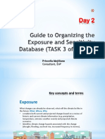 Step 3A_Task 3 Organizing the Exposure Database
