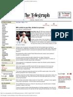 The Telegraph - Calcutta (Kolkata) _ Nation _ MPs United on Pay Hike, Divide