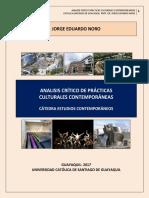 Analisis Critico de Las Practicas Culturales Contemporaneas
