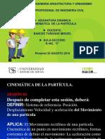 Sesion01_cinemática de La Particula