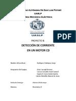 Deteccion de Corriente en un Motor CD