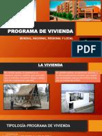 PROGRAMA DE VIVIENDA taller 7.pptx