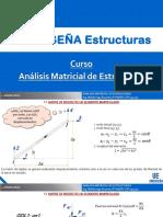 Análisis Matricial de Estructuras Parte 1