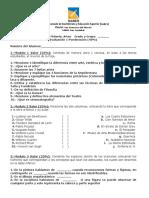 Examen Primer Parcial (5 B)