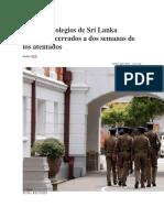 Iglesias y colegios de Sri Lanka continúan cerrados a dos semanas de los atentados.docx