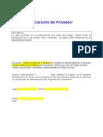 Declaracion del Proveedor.doc