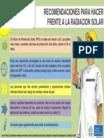 Recomendaciones Radiacion Solar