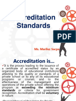 Accreditation Standards for Libraries