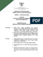 Kepmenpan No.23 Tahun 2001 Tentang Jabatan Fungsional Nutrisionis Dan Angka Kreditnya (1)