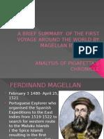 A Brief Summary of the First Voyage Around