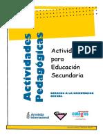 ACTIVIDADES. para la Educación Secundaria. Orientación Sexual.pdf