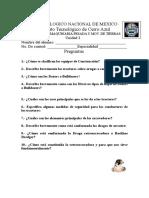 Examen de Maquinaria Pesada 2,3,4 2019