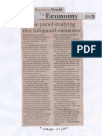 Business World, Sept. 5, 2019, House panel studying rice safeguard measures.pdf