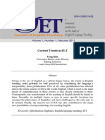 Current Trends in ELT