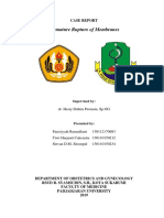CASE REPORT - PROM