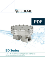 Equilibar-BD Series-Industrial Back Pressure Regulators and Valves
