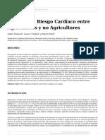 Factores de Riesgo Cardíaco Entre Agricultores y No Agricultores