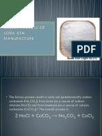 Solvay Process of Soda Ash Manufacture