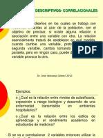 DISEÑOS DESCRIPTIVOS- CORRELACIONALES