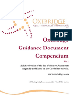 Oxe Bridge Guidance Documents Compendium v 0