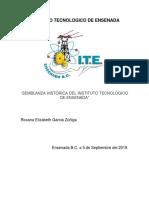 Semblanza Histórica Del Instituto Tecnológico de Ensenada