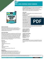 Bison Kit Adhesive Glue
