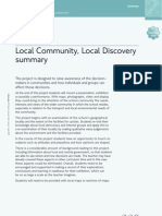 CIT-2-Local Community, Local Discovery