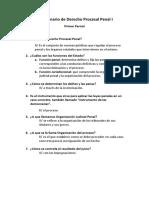 Derecho Procesal Penal 1 USAC