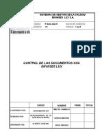 p Sgc Gq 01_control_documentos Sgc Envases Lux v1