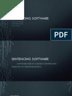 Sentencing Software