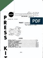 Biosatellite A Press Kit