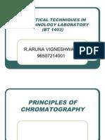Principles of Chromatography