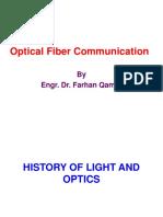 History of Light Optics