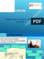Vladimir Pisar ORIGIN GIZ Presentation