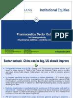 Pharmaceutical Sector Outlook- Sector Update- 4 September 2019 (1)
